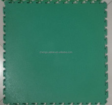 plastic visible joint interlocking floor tiles