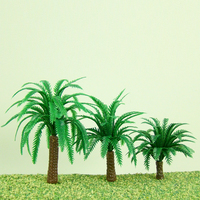 Scale Miniature Model Palm Trees for Railway Making (DIY-CP015)