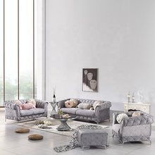 luxury chesterfield living room sofa <strong>furniture</strong>