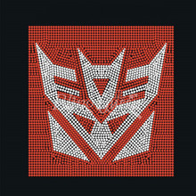 Transformers Rhinestone Iron On Appliques