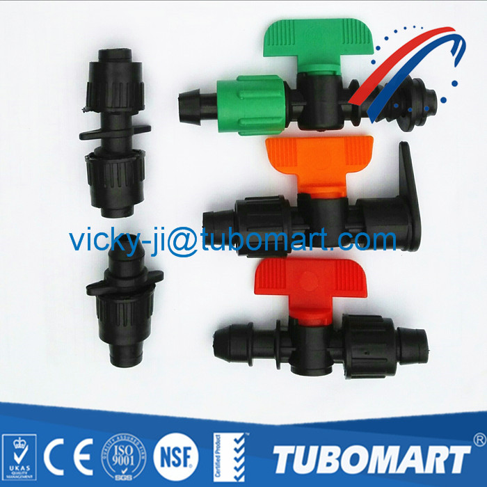 China Wholesale Price Agricultural Irrigation Mini Pp Valves For Water Control
