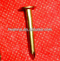 galvanized flat head plan shank clout nails