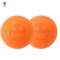 High Quality Official Standard Custom Laser Engrave Logo Natural Rubber Lacrosse Balls
