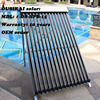 High Efficiency Solar Collector With 15 Heat Pipe Vacuum Tubes
