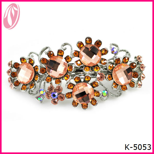 Clinquant Garland New Design Diamond Jewelry Hair Clips for girs