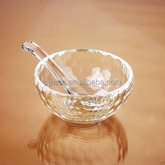 Factory direct cheap attractive and durable polish crystal glass bowl