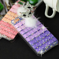 Cell Phone Case Accessory Rhinestone PC Daimond Fashionable Protector Mobile Phone Cover for iPhone 5