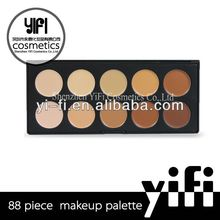 Cosmetic Distributor! 10 color concealer palette silky loose powder