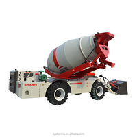 Self Loading Cement Mixing Mini Mobile Concrete Mixer Truck