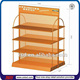 TSD-M447 Custom double sided pegboard display stand,home appliance display rack,department store furniture