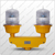 NANHUA LS310C Dual aviation obstruction lights/Twin weatherproof aircraft Lights/led tower obstacle light