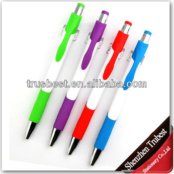 Latest promotional plastic ball pen