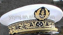 French Navy Vice Admiral Military Officer Cap