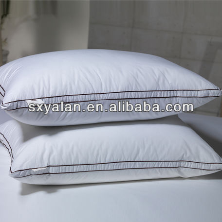 silicone polyester fiber filling gusset pillows