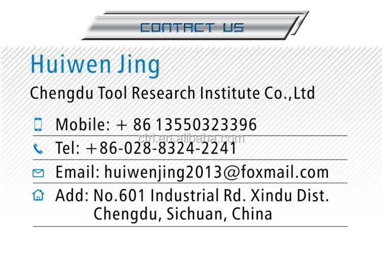 PVD Coated Tungsten carbide cutting tool carbide groove cutting tool