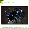 super bright outdoor decorative string lighting led green yellow white black red multicolor led string light 12v