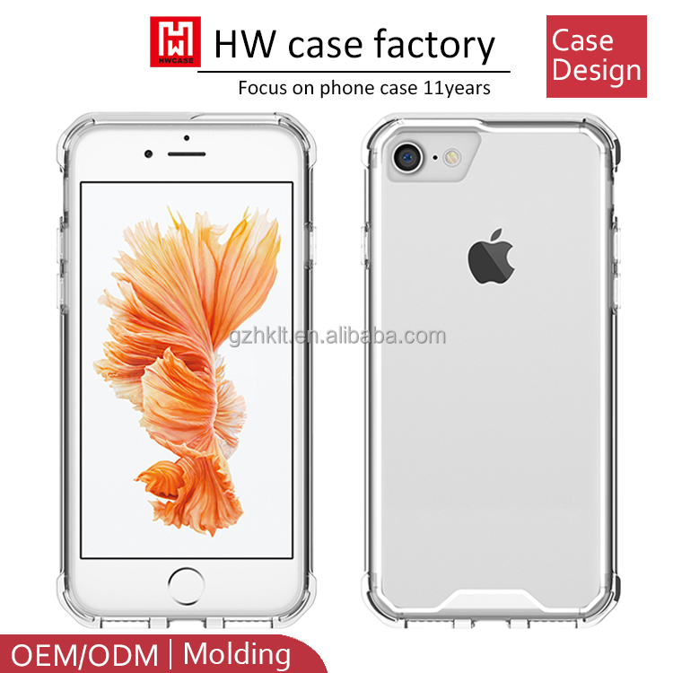 mobile phones and accessories OEM/ODM factory bulk buy from china clear mobile Phone Case For iphone 7 case tpu