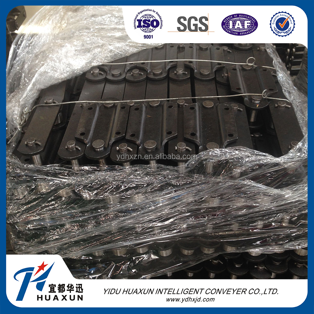 Duplex roller chain transmission industrial chain