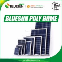 Bluesun Hot Sell good price mini Poly 5W solar panels 12v for home use from china