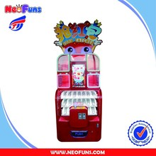 New Prize Machine Baby Dinosaur Toy Claw Crane Machine With Video Games Win Gift Toy Vending Machine For Sale