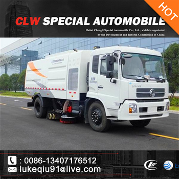 high efficiency street cleaning truck for sales