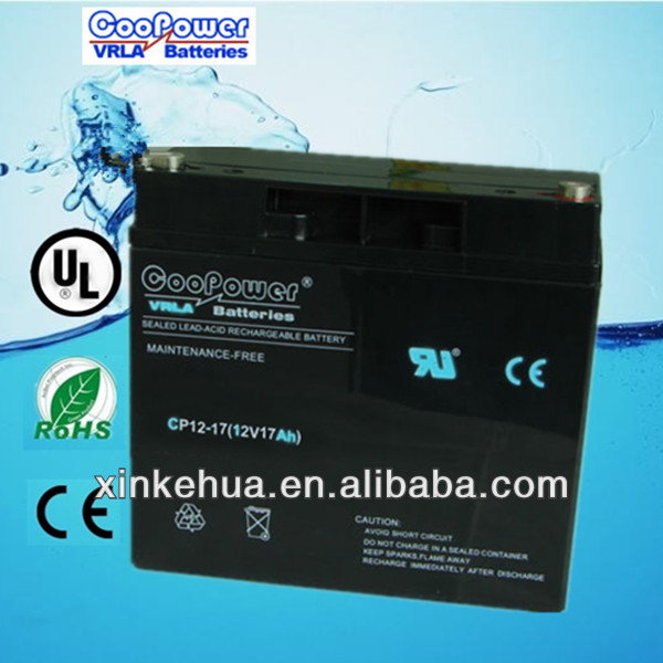 12V Toy car battery/Lead acid battery/12v17ah UPS battery