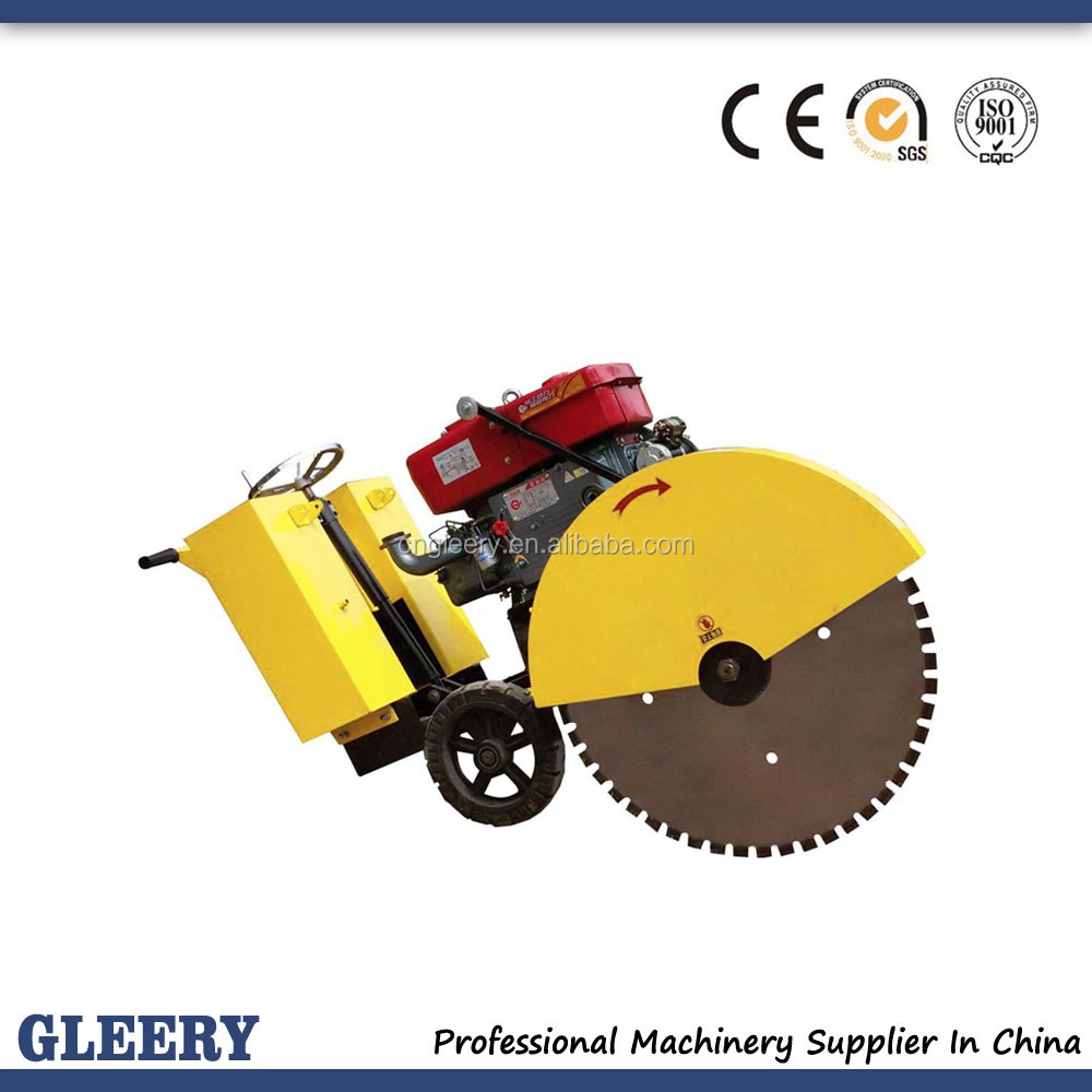 GLQ-40A/B Electric/Diesel Engine Concrete road cutter/pavement cutter
