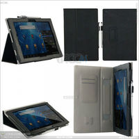 Distribution opportunity New Flip leather case cover for Sony Xperia Tablet Z P-SONXPERIATABLETZCASE002
