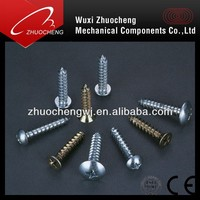 slotted pan head Truss Head Carbon steel Self Tapping Screw