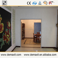 china national flower peony mural demax build glass mosaic tile