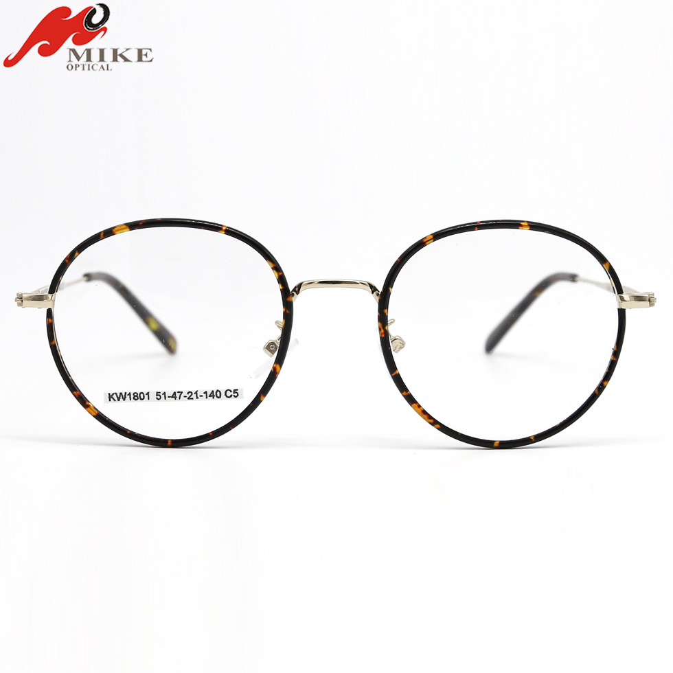 Stainless Old School Eye Glasses Frames With Acetate On Shapes - Buy ...