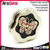 China factory supply cheap butterfly pattern metal table bag hook