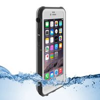 For iphone 6/6s waterproof case slim clear cover case