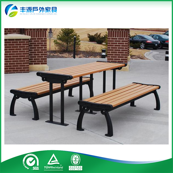 WPC Wood Plastic Composite water-proof picnic table benches