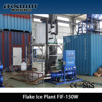 Quick-freezing Flake Ice maker for tuna fishing vessel for sale