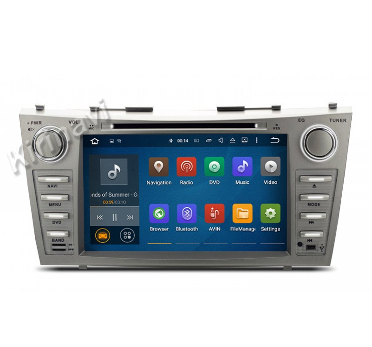 Kirinavi WC-TC8006 android 5.1 car multimedia system for toyota camry 2007 - 2011 car pc with gps wifi car dvd player radio
