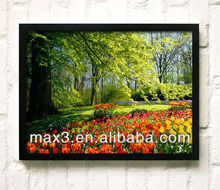 Green forest Wall Art Painting for home decoration modern designs