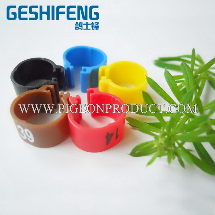 Open clip plastic rings with good material plastic tombstone cheap