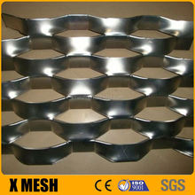 Stainless steel type 304 expanded metal ceiling with flattened type