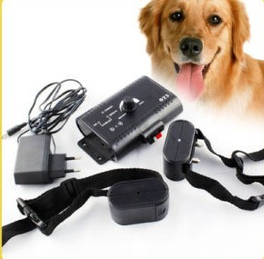 In-Ground Pet E-Fence Underground Electric Fencing Pet Dog System DC Charger Remote Shock E-Fencing with Collar For 2 Dog