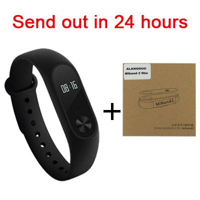 Stock Xiaomi MI Band 2 Smart Bracelet Heart Rate Pulse Xiaomi Miband 2 Wristbands xiaomi mi band 2 With OLED Screen & Xiaomi 1S