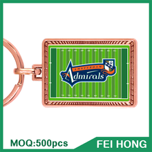 Factory Price Custom Giveaways with Logo Football Team Keyring Gift
