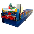 840 metal roofing sheet corrugating iron galvanized roof sheet roll forming making machine line