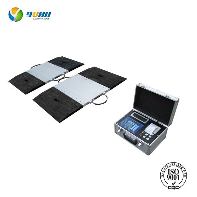 50t in motion portable dynamic axle weighing pads scale