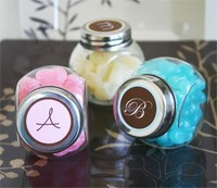 Candy Jars with plastic / alu lids