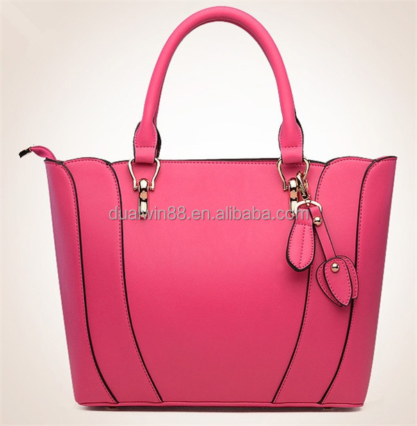 2014 fashion ladies pu handbags ,wholesale bag China Yiwu manufacture