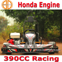 Bode factory new 400cc cheap racing indoor go kart for sale 4 wheel racing honda engine gokart