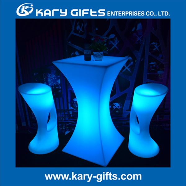 TOP Trustworthylist led light bar table with chairs glass magic cleaner eletric color flsahing