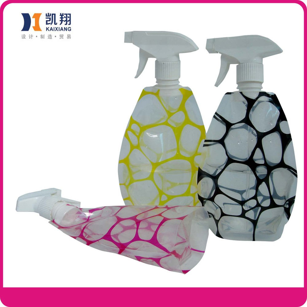 2017 newest reusable foldable plastic flower sprayer