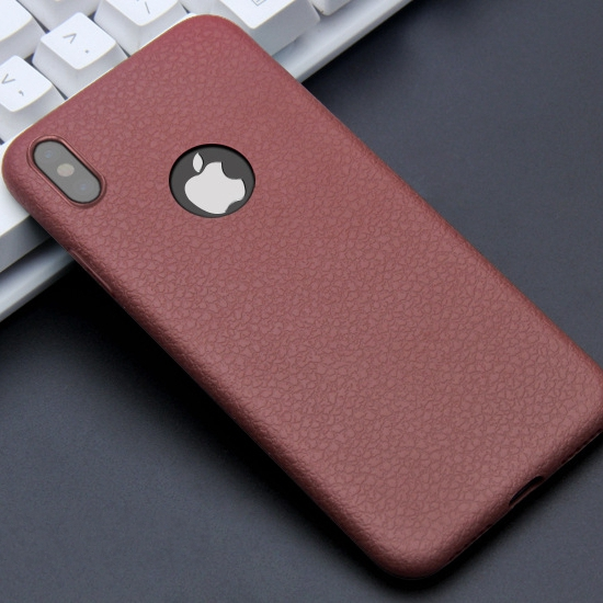 Mobile phone accessories wholesale Leather Ultra Thin TPU Silicon case for iphone X for i phoneX high quality case for i phone X